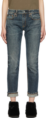 rag & bone Dre Low Denim Jeans