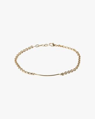 Title Of Work Unisex Cable Bar Bracelet