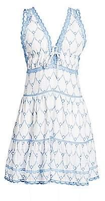 Jonathan Simkhai Women's Cotton Embroidered Dress
