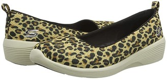 Skechers Arya - Her Instincts (Leopard) Women's Shoes