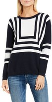Women's Two By Vince Camuto Nautical Intarsia Blocked Pullover