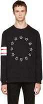 Givenchy Black Circle Stars Sweatshirt