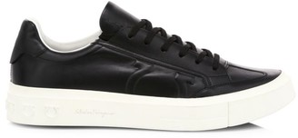 Salvatore Ferragamo Borg Quilted Logo Leather Runners
