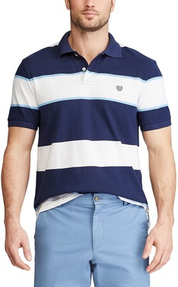 Chaps Men's Classic-Fit Striped Everyday Polo