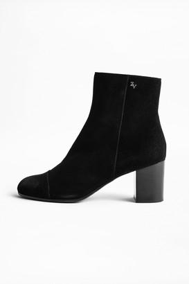 Zadig & Voltaire Lena Studs Boots