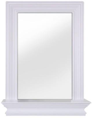 Elegant Home Fashions Stratford Wall Mirror with Shelf