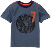 Gymboree Cadet Blue Baseball Tee - Infant Toddler & Boys