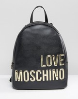Love Moschino Backpack With Large Logo