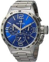 TW Steel Men's CB13 Analog Display Quartz Silver Watch