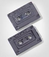 Fred Flare Cassette Tape Earrings