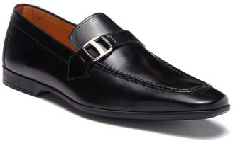 Magnanni Tonic Leather Buckle Loafer