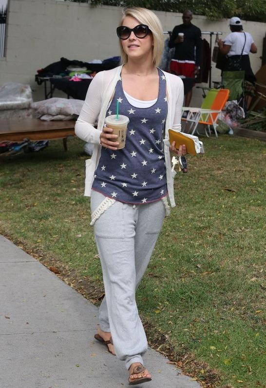 LnA Coco Sweatpant in Heather Grey