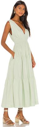 S/W/F SWF Tiered Maxi Dress