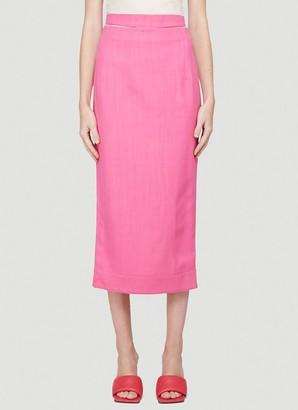 Jacquemus La Jupe Valerie Cutout Belt Skirt