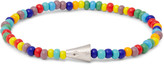 Luis Morais - Glass Bead White Gold Bracelet