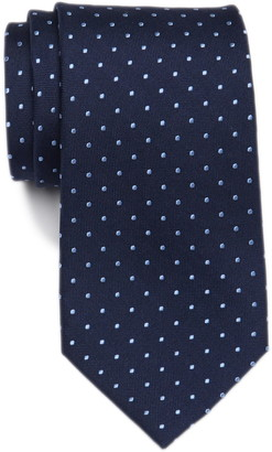 Tommy Hilfiger Silk Oxford Dot Tie