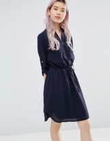 Yumi Two Pocket Dress With Zip Detail