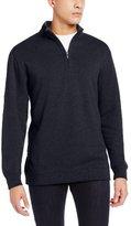 Cutter & Buck Men's Big-Tall Forest Park Half Zip Sweater