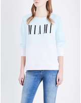 Wildfox Couture Miami knitted sweatshirt