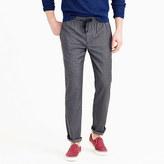 J.Crew Wallace & Barnes drawstring suit pant in grey Italian wool