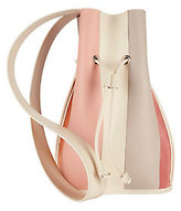 Derek Lam 10 Crosby Leather & Suede Bucket Bag