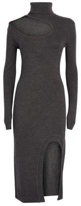 Monse Merino Wool Cut-Out Dress
