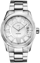 JBW Men's Stainless Steel Diamond & Crystal Watch