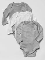 Gap Favorite long-sleeve bodysuit (3-pack)