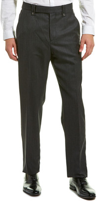 Lanvin Little Pocket Straight Wool Pant
