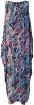 Issey Miyake boxy patterned dress
