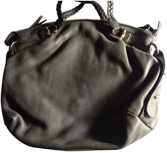 Gucci Anthracite Leather Handbags