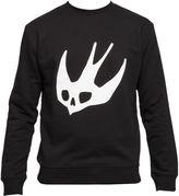 McQ by Alexander McQueen Black Cotton Sweater