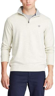 Chaps Men's Classic-Fit Solid Quarter-Zip Pullover
