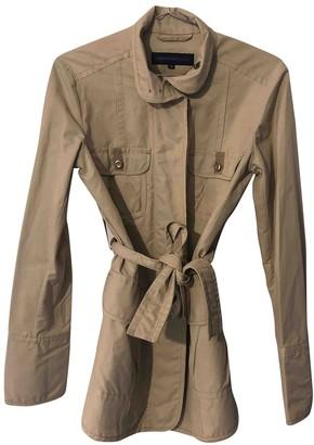 Trussardi Jeans Beige Cotton Coat for Women
