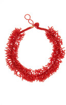 Kenneth Jay Lane Beaded Branch Statement Necklace