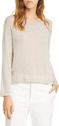 Vince Drop Shoulder Crewneck Sweater