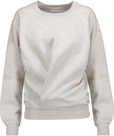 Etoile Isabel Marant Belden marled cotton-blend jersey sweatshirt