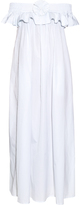 Thierry Colson Pippa Trianon off-the-shoulder cotton dress