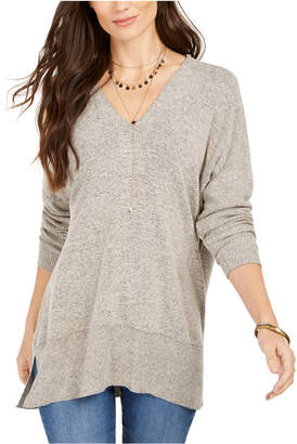 Style&Co. Style & Co Drop-Shoulder V-Neck Tunic