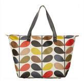 Orla Kiely Multi Stem Zip Shopper Bag