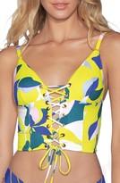 Maaji Waterlily Longline Corset Bikini Top
