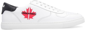 DSQUARED2 Maple-gym Leather Sneakers