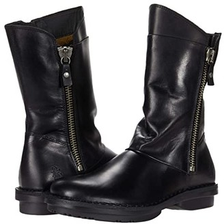 Fly London FLEE033FLY (Black Rug) Women's Boots