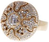 Nadri Oversized CZ & Filigree Ring - Size 7