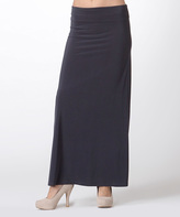 Charcoal Maxi Skirt - ShopStyle