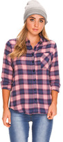 City Beach Elwood Check It Long Sleeve Shirt