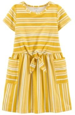 Carter's Toddler Girls Striped Pocket Dress