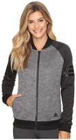 adidas Team Issue Fleece Baseball Jacket