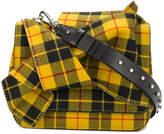 No.21 front knot shoulder bag