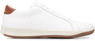 Eleventy Contrasting Heel Sneakers